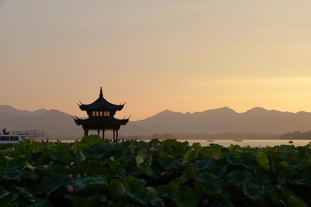 Chinesischer Sonnenaufgang