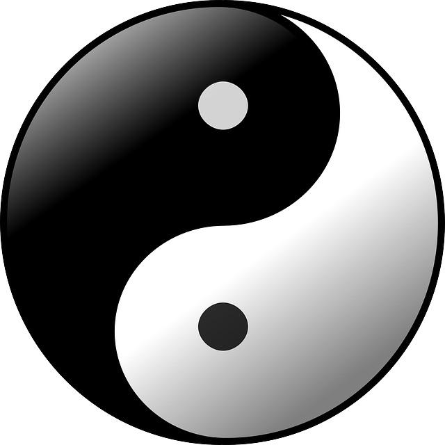 Yin und Yang - sich ergänzende Gegensätzlichkeiten